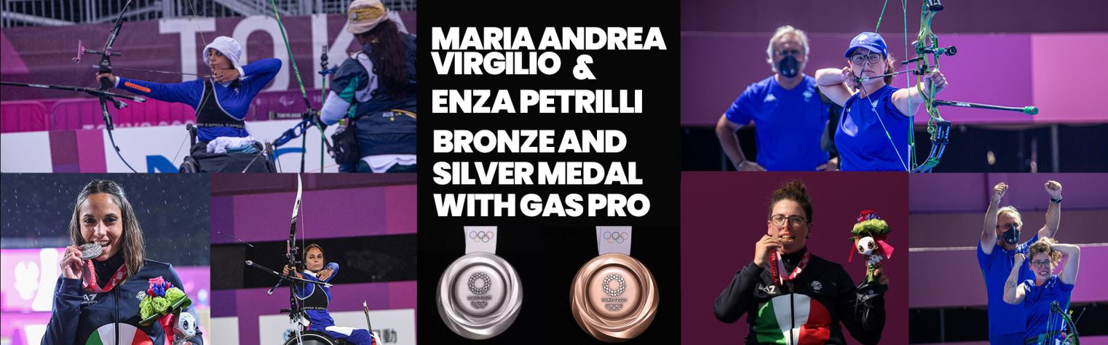 Gas Pro Bronze and Silver Medal Tokyo 2020