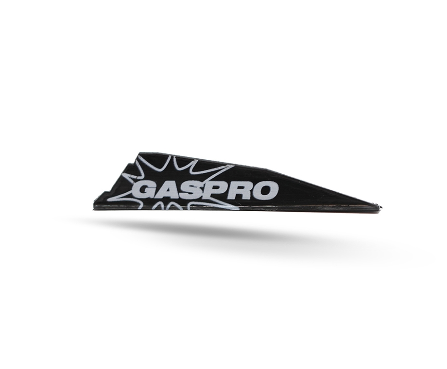GAS PRO VANES GX-187 WITHOUT GLUE BLACK