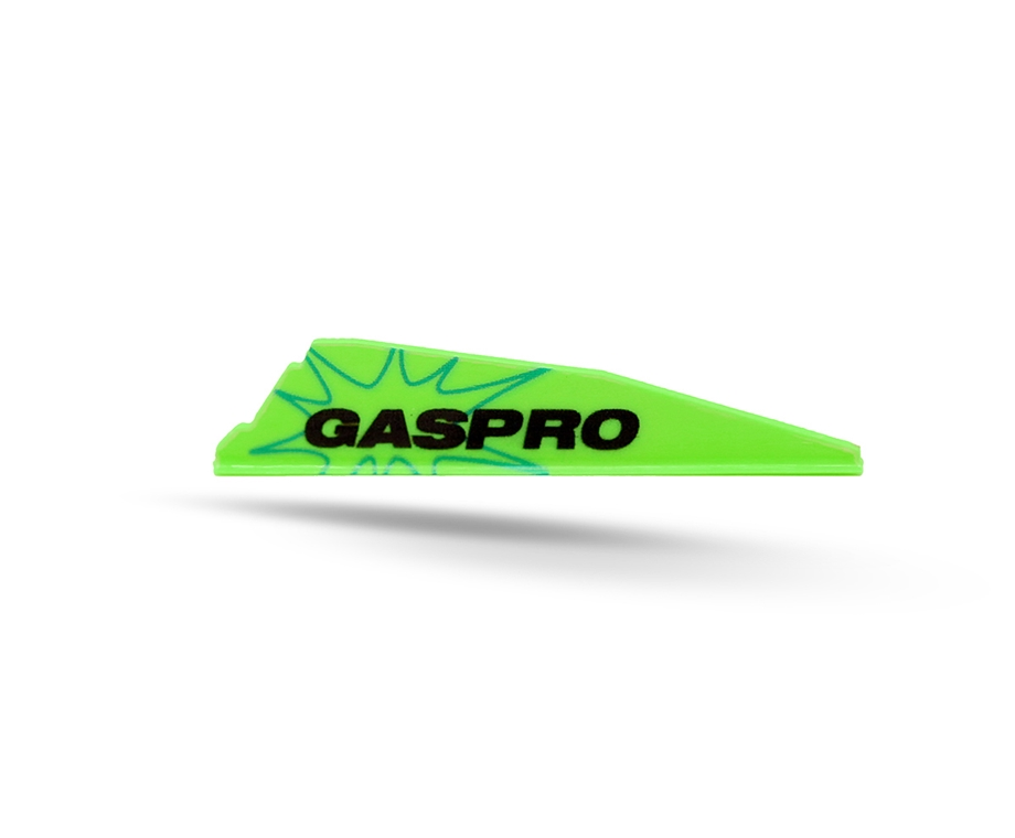 GAS PRO VANES GX-187 WITHOUT GLUE FLUO GREEN