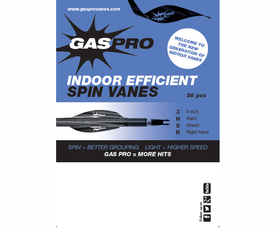 GAS PRO ALETTE SPIN INDOOR EFFICIENT 3""