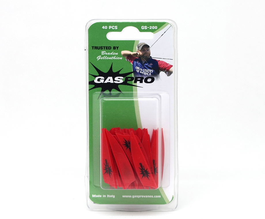 GAS PRO VANES GS-200 TRUSTED BY BRADEN GELLENTHIEN (100 PCS PACKAGE)